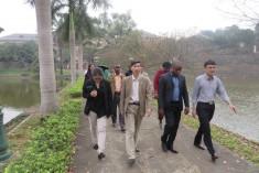 Đoàn học viên lớp bồi dưỡng cán bộ lãnh đạo, quản lý của Đảng Frelimo, Cộng hòa Mozambique thăm Viện KHKT nông lâm nghiệp miền núi phía Bắc