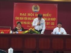 Đại hội công đoàn Viện KHKT nông lâm nghiệp miền núi phía Bắc nhiệm kỳ 2017-2022