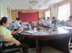 Đoàn đại biểu Sở Nông nghiệp và Phát triển nông thôn tỉnh Phú Thọ thăm và làm việc tại Viện KHKT nông lâm nghiệp miền núi phía Bắc
