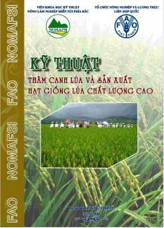 Dự án FAO TCP/VIE/3101 (D) Quy trình thâm canh lúa và sản xuất hạt giống chất lượng cao